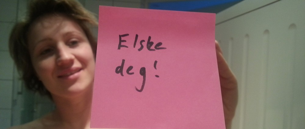 Post-it: elsker deg